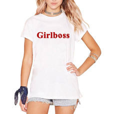 e4d60d2941 Camiseta Blusa Girlboss Power Roupa Feminina Black Friday