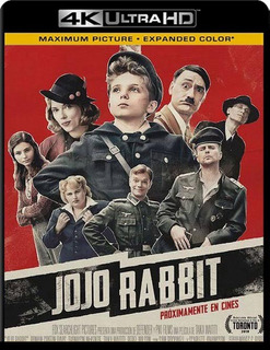 Jojo Rabbit Pelicula 4k 2160p Ultrahd Digital