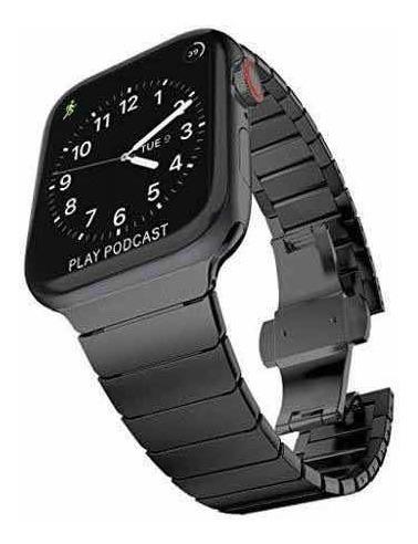 Apple Watch Serie 4 44mm Acero Inoxidable Extensible Acero I