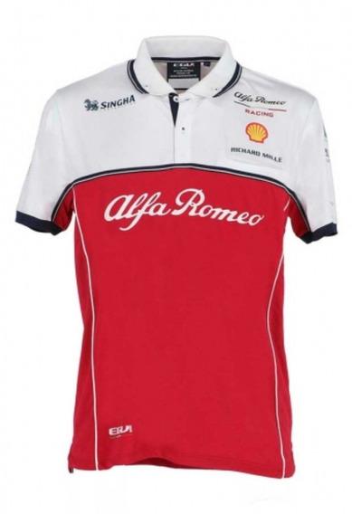 Camisa Polo Alfa Romeo F1 Kimi Raikkonen *2019*