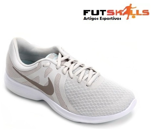 Tênis Nike Revolution 4 Feminino - Bege