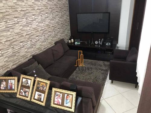 Cobertura Com 2 Dormitórios À Venda, 100 M² Por R$ 371.000,00 - Vila Leopoldina - Santo André/sp - Co0108