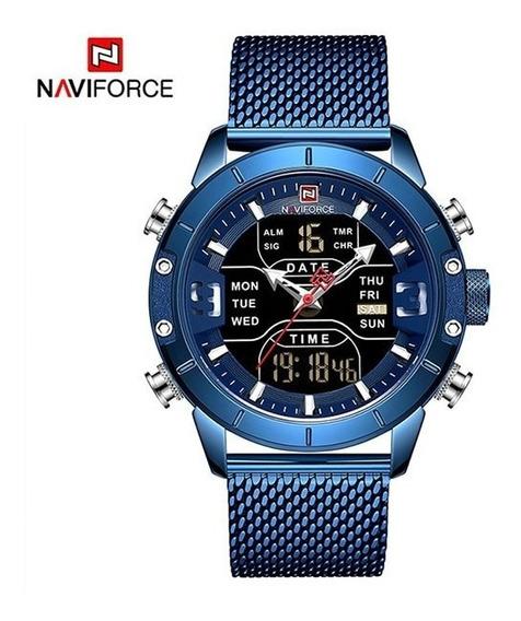 Relógios Sports Top De Luxo De Aço Inoxidável À Prova D