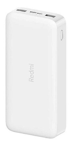 Xiaomi Mi Redmi Power Bank 20000mah Carga Rápida