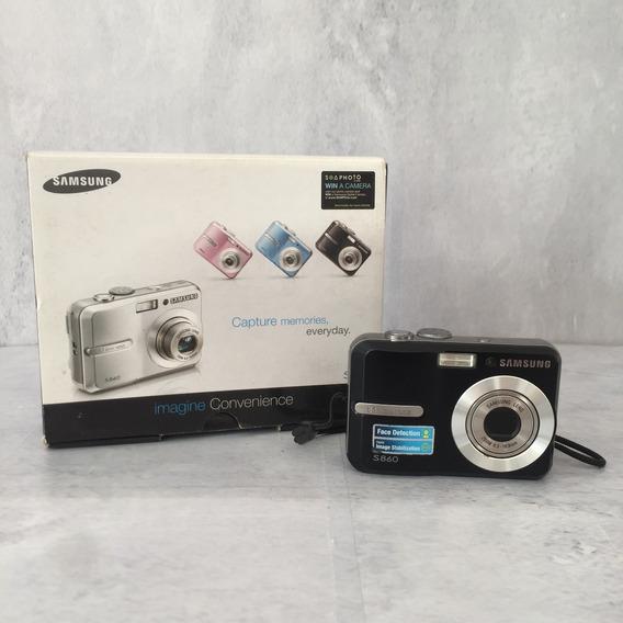 Câmera Digital Samsung S860 - 8.1 Megapixels - Ótimo Estado