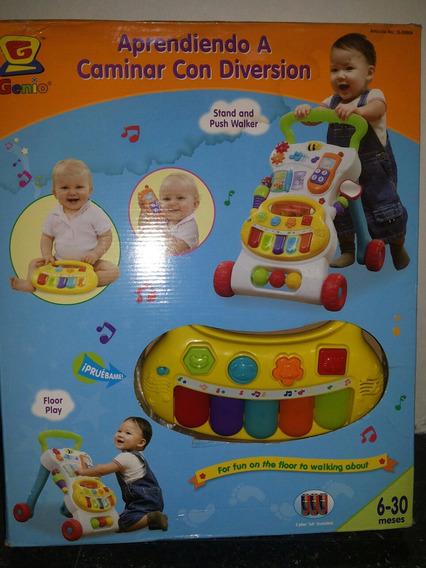 Caminadora Andadera Musical Para Bebés Marca Genio