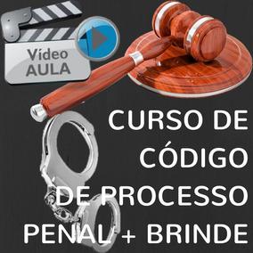 Video Aula Código Processual Penal + Livro + Brindes !!!