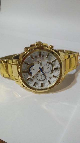 Relógio Masculino Smart Fundo Branco Envio Imediato