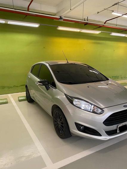 Ford New Fiesta 1.6 16v Sel Style Flex 5p Prata