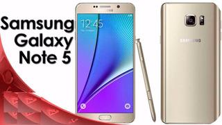 Celular Samsung Note 5 Liberado Libre Movister Modelo #1 3g