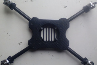 Drone Quacopeter Kit Frame Y Motores