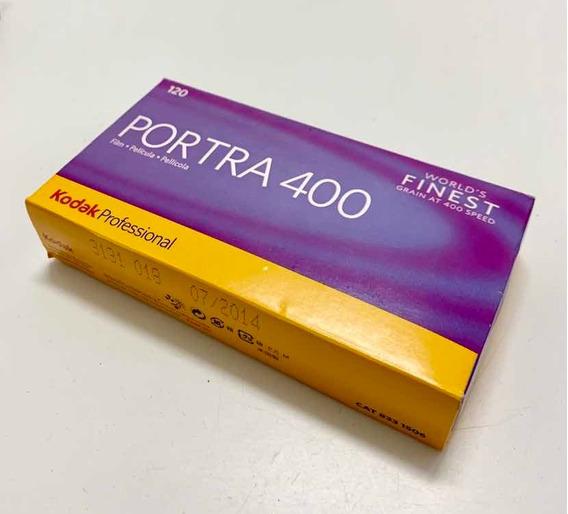 Filme Kodak Portra 400 - 120mm