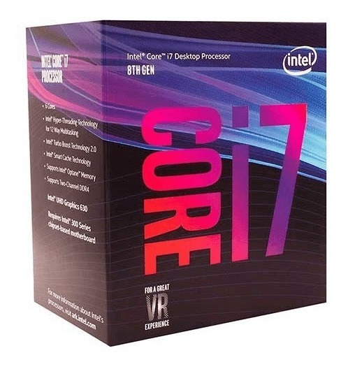 Processador Intel Core I7-8700 4.6ghz Coffee Lake Lga 1151