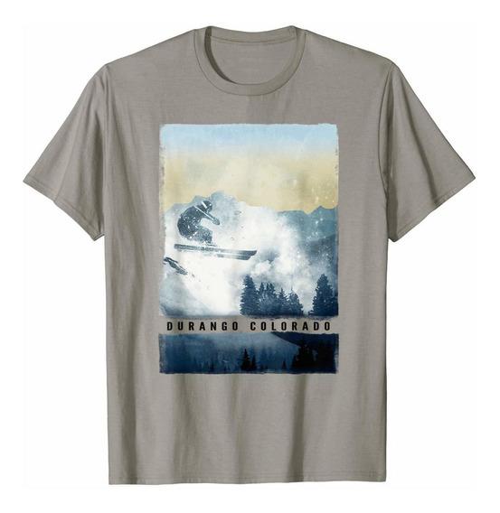 Camiseta De Durango Ropa De Invierno De Colorado Adulto Nino