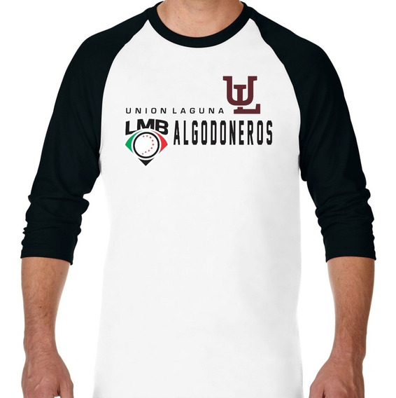 Playera Manga 3/4 Ranglan Algodoneros Distinction Lmb 2019