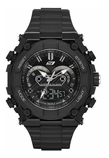 Reloj Skechers Correa Plastico Negro