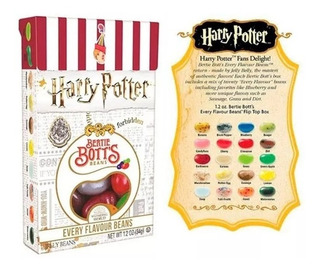 Harry Potter Bertie Botts 20 Sabores Asquerosos Originales