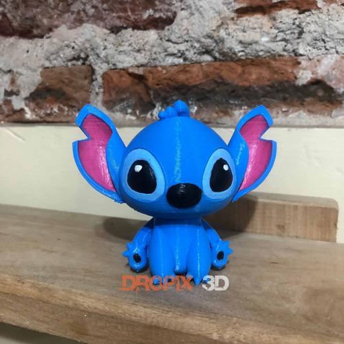 Figura Stitch Y Ángel - Impresión 3d