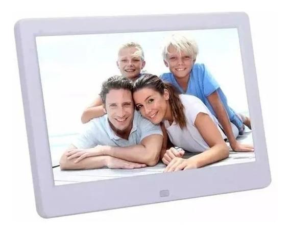 Porta Retrato Digital 10 P Controle Remoto E Saida Para Fone