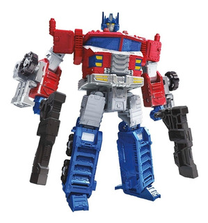 Muñeco Transformer Simil Optimus Prime Bumblebee Metal Yf945