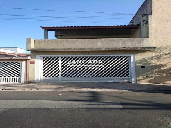 Casa Com 03 Dormitórios E 02 Vagas De Garagem No Jd. Das Flores - 11446