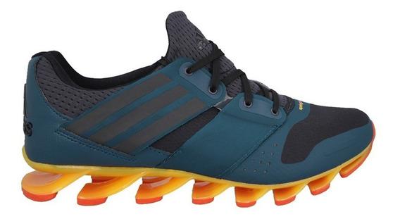 Tenis adidas Hombre Azul Springblade Solyce Aq5240