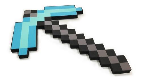 Imagen 1 de 5 de Pico Minecraft Juguete Rigido De Foam Seguro Inofensivo