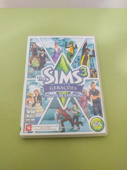The Sims 3 Gerações Case + Encarte Expansão - Original Usado