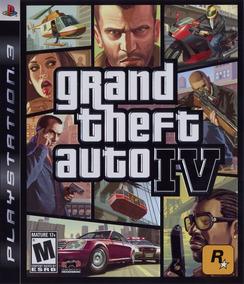 Jogo Grand Theft Auto Iv 4 Gta Playstation 3 Ps3 Mídia Físic