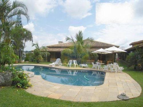 Casa Com 4 Dormitórios À Venda, 538 M² Por R$ 2.900.000,00 - Jardim Flamboyant - Atibaia/sp - Ca1752