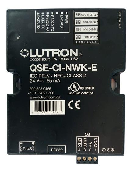 Controle De Interface Lutron 24v-65ma - Qse-ci-nwk-e - C/nf