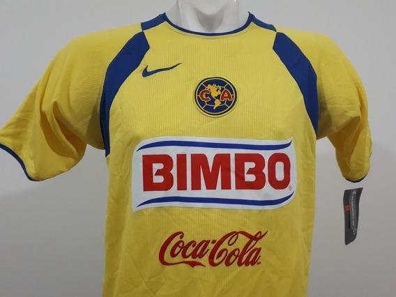 Jersey Nike América Local 2005 2006 Amarillo/azul Spere-dry