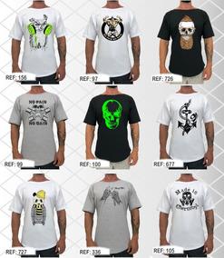 3 Camiseta Morcego Morcegão Blusa Original Treino Camisa