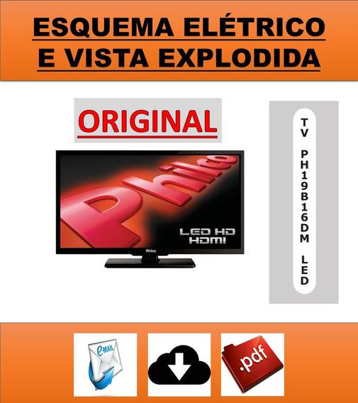 Esquema Elétrico Tv Philco Ph19b16dm Led