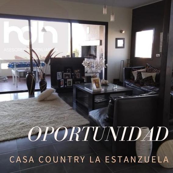 Oportunidad Casa Country La Estanzuela. (urgente Por Viaje)