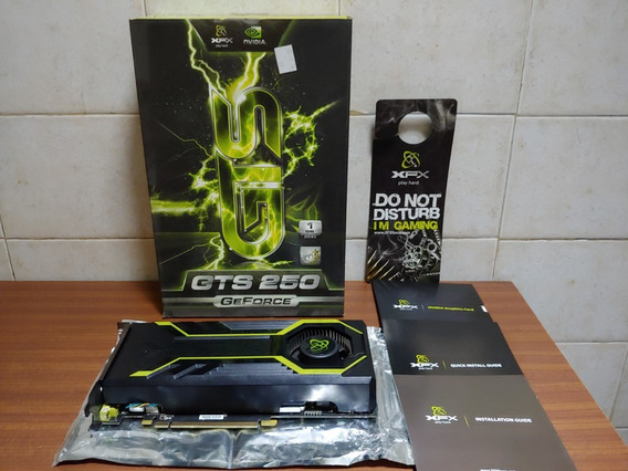 Placa De Video Xfx Geforce Gts250 1gb Ddr 256 Bits