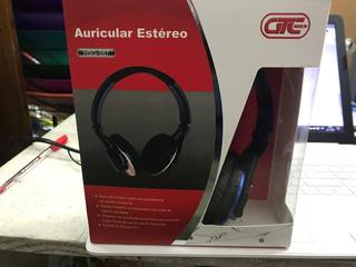 Auricular Estereo Con Microfono Gtc Hsg-587