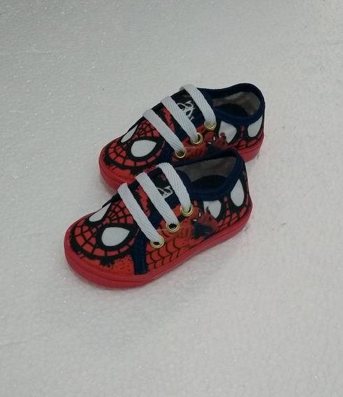 Sapato Escolar Homem Aranha