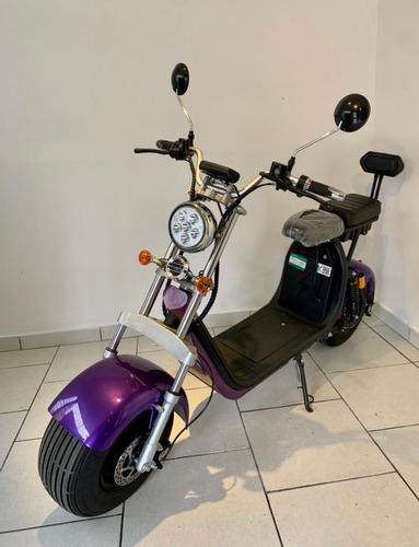 Patinete Moto Scooter Elétrico 1500w Lilas