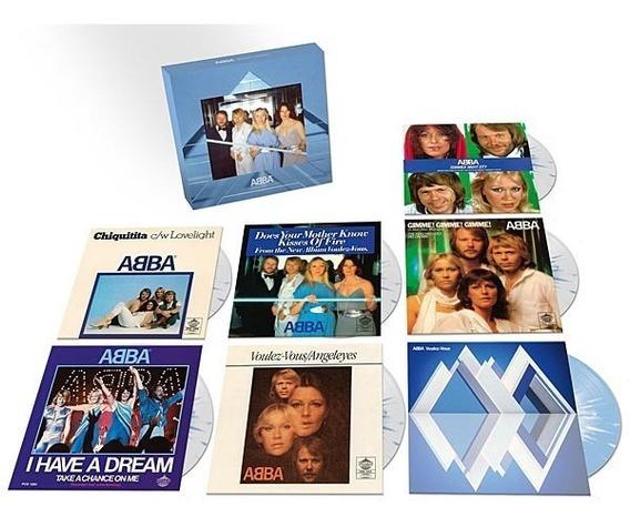 Abba Voulez Vous Box Vinilo 6 Singles Lp Nuevo Stock