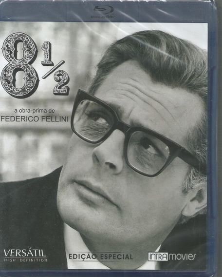 Blu-ray Fellini 8 1/2 Ed Especial - Versatil - Bonellihq L19