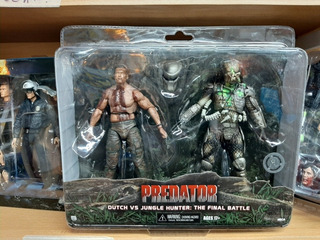 Depredador Neca Dutch Vs Jungle Hunter: The Final Battle