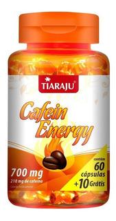 Cafein Energy Emagrecedor 210mg 60+10 Cápsulas Tiaraju