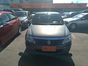 Renault Logan Authentique 1.0 16v 2012 Financia 100%