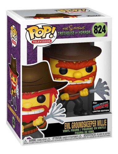 Funko Pop! Simpsons Evil Groundskeeper Willie Fall Conven...