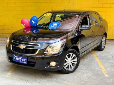 Chevrolet Cobalt Ltz Graphite 1.8 Bancos Couro Top Linha !
