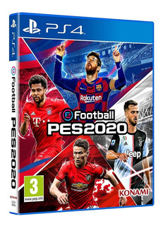 Pes 2020 Ps4 Fisico Sellado Original Español Latino !!!