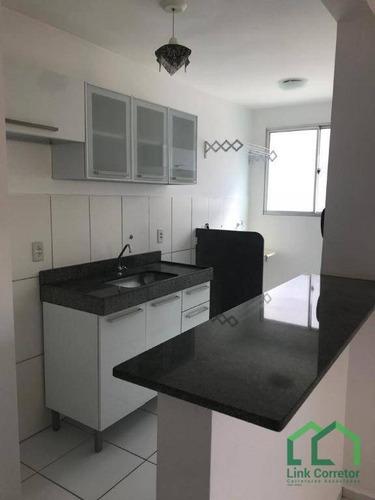 Apartamento À Venda, 52 M² Por R$ 210.000,00 - Loteamento Parque São Martinho - Campinas/sp - Ap1885
