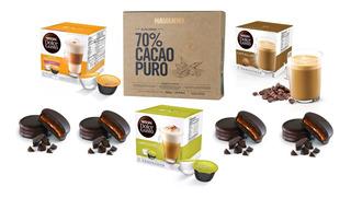 Caja Havanna X 9 Alf. Cacao Al 70% + 3 Cajas Dolce Gusto