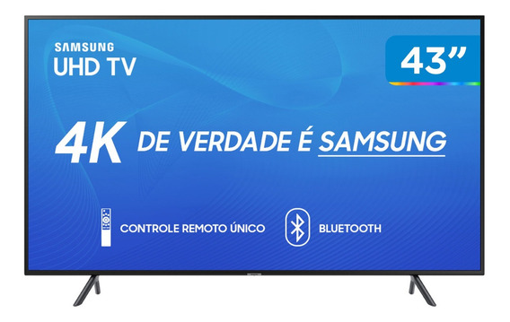 Samsung Tv Led 43 Nu7100 Smart Tv 4k Uhd